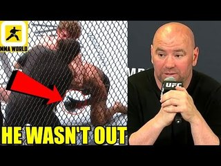 Robbie Lawler gave a thumbs up even after his arm supposedly went Limp,Ben Askren on Dana White