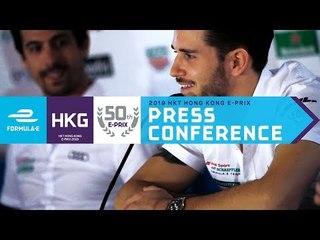 Pre-Race Press Conference - 2019 HKT Hong Kong E-Prix   ABB FIA Formula E Championship