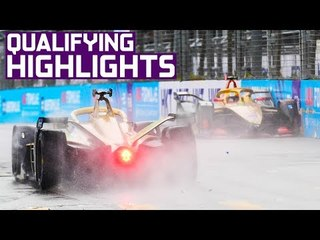 Qualifying Highlights   2019 HKT Hong Kong E-Prix