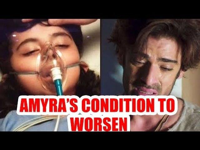 Amyra's deteriorating condition to breakdown Sikandar in Kulfi Kumar Bajewala