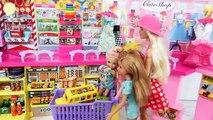 Poupées Barbie Aller faire du Shopping Magasin de Jouets pour les Enfants Toko mainan boneka Barbie Loja de brinquedos