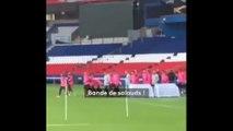 """""""On perd par votre faute"""" : devant des supporters ultras, l'entraînement sous haute tension du PSG"""