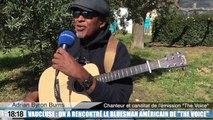 Vaucluse : Adrian Byron Burns, ce chanteur américain toujours en lice dans The Voice