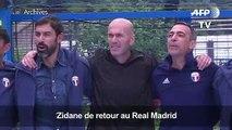 Football: Zidane de retour au Real Madrid