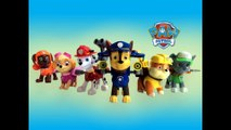 6 Paw Patrol Action Pack Pups and Badges Marshall Chase Rubble Rocky Zuma Skye Nickelodeon Unboxing