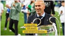 Real Madrid - Zidane, tout Madrid en rêvait !