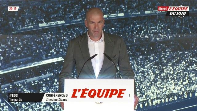Zidane «On va changer des choses» - Foot - ESP - Real Madrid