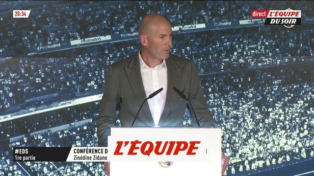 Zidane «C'est un plus gros défi» - Foot - ESP - Real Madrid