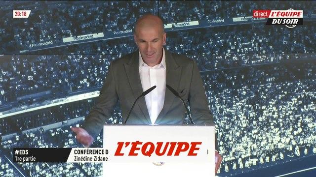 Zidane «C'est une grande responsabilité» - Foot - ESP - Real Madrid