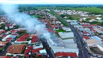 Incêndio atinge empresa em Auriflama (SP)