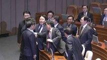 [현장영상] 나경원 교섭단체 연설 파행...고성 오간 국회 / YTN