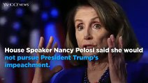 Pelosi on impeaching Trump- 'He's just not worth it' Barring 'overwhelming' new evidence, pursuing impeachment would prove to...