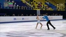 Brooke McIntosh / Brandon Toste 2019 Junior World Figure Skating Championships - SP