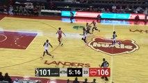 Emanuel Terry Posts 15 points & 15 rebounds vs. Memphis Hustle