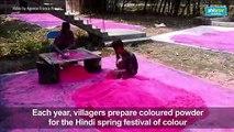 India prepares for Holi festival