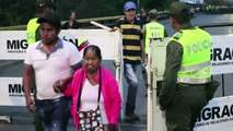 Miles de venezolanos cruzan a Colombia por corredor humanitario