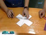 iBilib: How to turn a cross into 6 shapes by cutting 2 straight lines