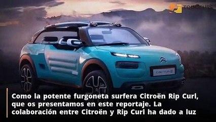 Los nuevos Surf Cars de Nissan, Citroën y Chevrolet