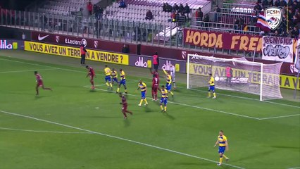 Le résumé de FC Metz-FCSM