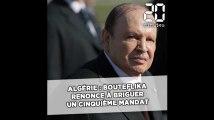 Algérie: Abdelaziz Bouteflika renonce à briguer un cinquième mandat, l'élection présidentielle est reportée
