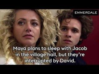 Emmerdale: Maya & Jacob caught by David?   Kim Tate RETURNS! (Soap Scoop Week 11)