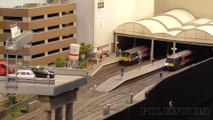 "Model Railway Layout ""New Bryford"" in OO Gauge by Mick Bryan and Peter Taylor 
