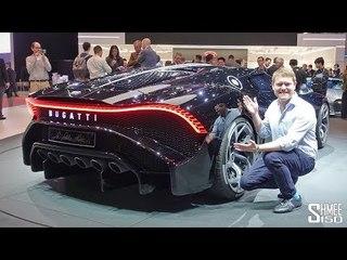 €16.7m BUGATTI LA VOITURE NOIRE - World's Most Expensive New Car!