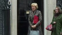 Prime Minister Theresa May and Cabinet depart Downing St