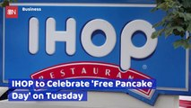 It's Free Pancake Tuesday At IHOP