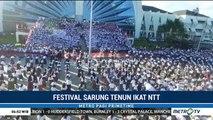 10 Ribu Warga NTT Ramaikan Festival Sarung Tenun Ikat