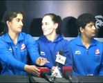 PWL 3 Day 5_ UP Dangal team addressing media after the victory over Mumbai