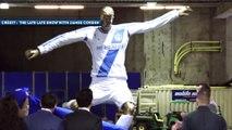 David Beckham piégé avec une fausse statue à son effigie