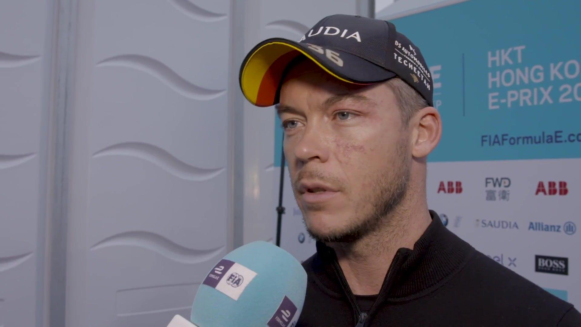 Formula E Hong Kong E-Prix 2019 Andre Lotterer PostRace