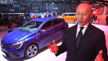 Renault at Geneva Motor Show 2019 - Thierry Bolloré, CEO of Renault Group