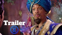 Aladdin Trailer #1 (2019) Will Smith, Mena Massoud Comedy Movie HD