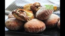 Recette des beignets fourrés à la pâte à tartiner - 750g