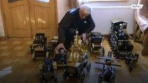 Грузинский мастер создает модели машин в стиле стимпанк из старых швейных машин