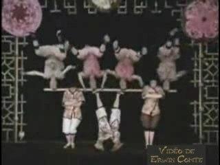 Les Kiriki (Acrobates Japonais)