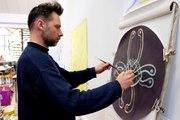Nicolas Barberot, un peintre ambidextre qui médite