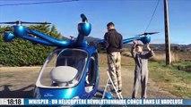 Whisper, un hélicoptère révolutionnaire conçu dans le Vaucluse