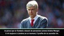 "Arsenal - Pirès : ""Le football a besoin d'Arsène Wenger"""