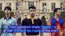 Jonas Brothers Land No. 1 Spot on 'Billboard' Hot 100 With 'Sucker'
