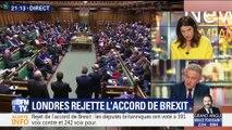 Londres rejette l'accord du Brexit