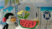 Just a taste! Penguins stopmotion movie!  Ty beanie boos Waddles Ty beanie babies Snowbank