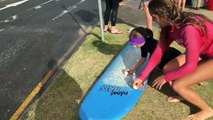 "Surfing Lesson - Currumbin Alley Surf School - ""how to surf"""