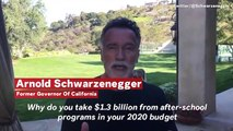 Arnold Schwarzenegger Slams Trump's Budget: Why Are You Taking Money 'From The Poor Little Kids?'