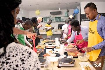 Quand les entrepreneurs de Jokkolabs cuisinent avec IvorianFood !