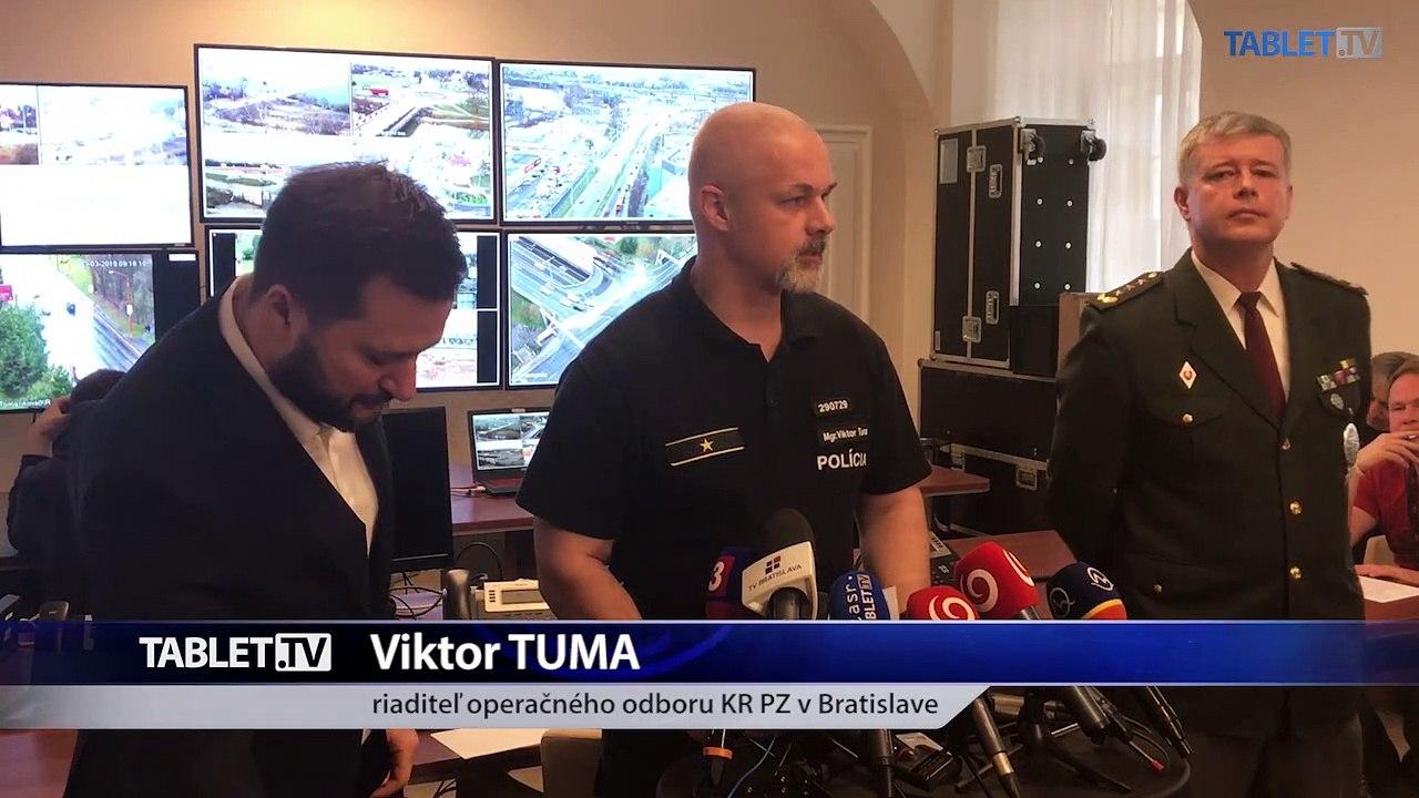 ZÁZNAM: TK hlavného mesta SR Bratislava