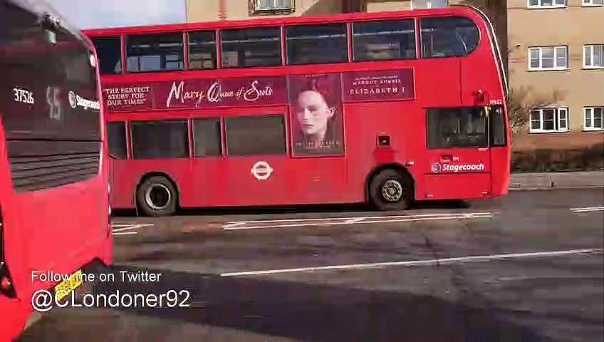 SHORT VIDEO: Buses at Romford - February 2019