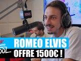 Roméo Elvis offre 1500¤ à un auditeur ! #MorningDeDifool
